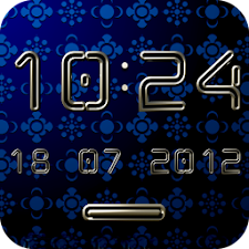 CHILLOUT Digital Clock Widget