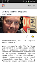 Screenshot of TOK FM