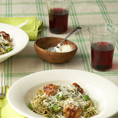 Pasta with Mint Pesto and Fava