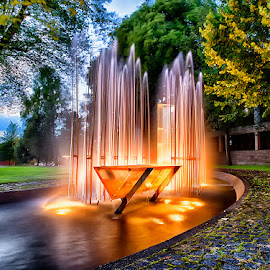by John Aavitsland - City,  Street & Park  Fountains