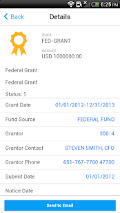 Infor Lawson Mobile Grants - screenshot