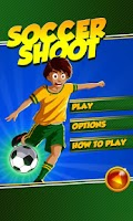 Screenshot of Soccer Shoot HD