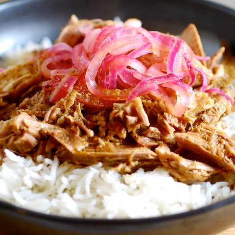 Puerto Rican Pernil with Crispy Skin