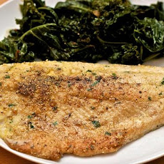Cornmeal-Crusted Pan-Fried Trout