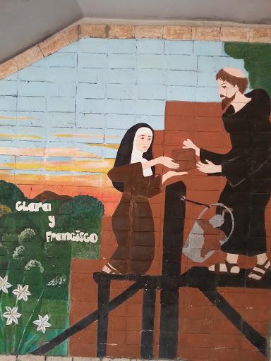 Mural San Francisco Y Santa Clara