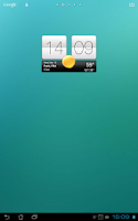 Screenshot of Sense V2 Flip Clock & Weather