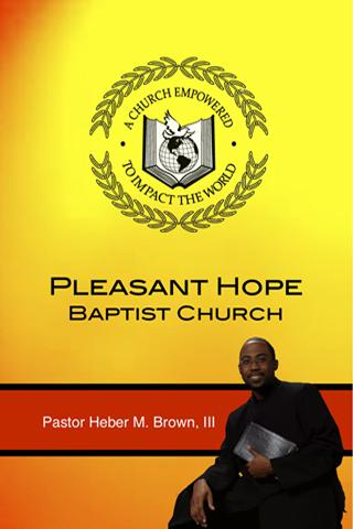 Pleasant Hope Baptist Church