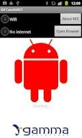 Screenshot of NFC & WIFI
