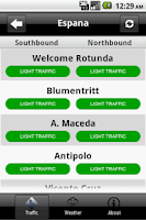 Screenshot of Metro Traffic Live!