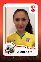Screenshot of kickCard Panini Brasil Sticker