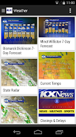 Screenshot of KX News Bismarck/Minot