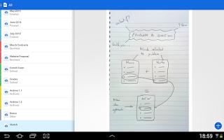 Screenshot of Camera 2 PDF Scanner Creator