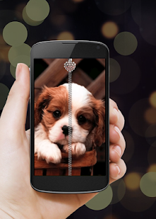 Download Puppy Dog Zipper Lock Screen APK for Android Kitkat