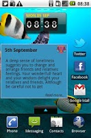 Screenshot of Daily Horoscope - Aquarius