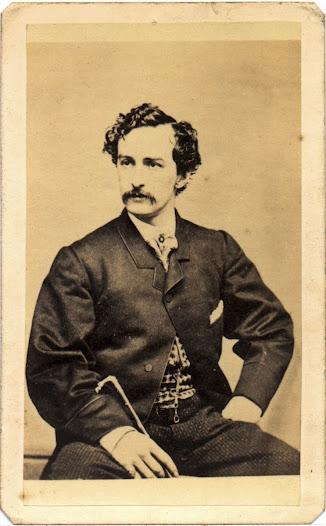 John Wilkes Booth, ca. 1863