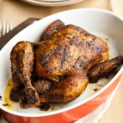 Roast Chicken with Dried Herb and Spice Rub