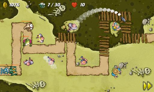 Swamp Defense - screenshot