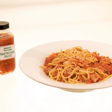 Pasta with Serena's Amatriciana Sauce