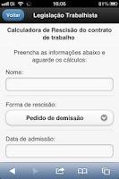 Screenshot of Brazilian Employment Law