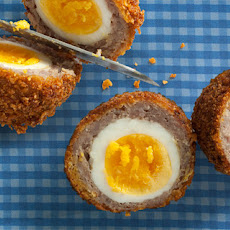 Breakfast Sausage and Cornflake Scotch Eggs Recipe