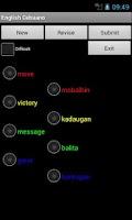 Screenshot of Cebuano English Dictionary
