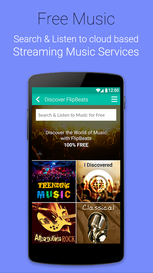 FlipBeats - Best Music Player Screenshot 3