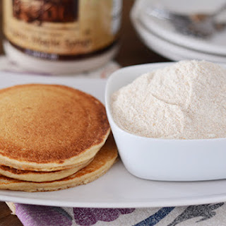 Whole Wheat Make-Ahead Pancake Mix