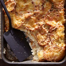 Ham and Gruyère Bread Pudding From 'One Good Dish'