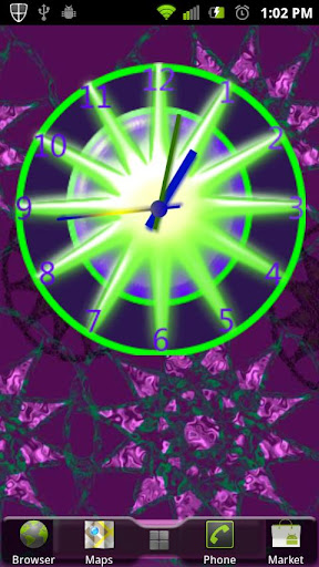Crazy Clock PinWheel