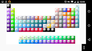Screenshot of ChemDoodle Mobile