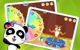Screenshot of 동물서커스-유아교육BabyBus
