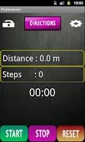 Screenshot of Naturewalk Pedometer