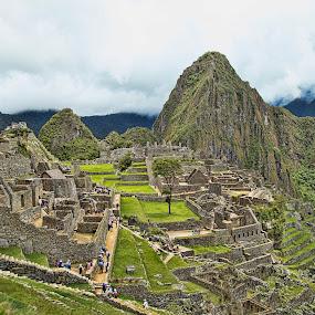 Machu Picchu by Berrin Aydın - City,  Street & Park  Historic Districts ( urubamba, i̇nka, 2.360m, cusco,  )