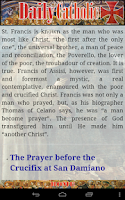 Screenshot of Daily Catholic