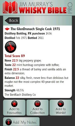 【免費生活App】Whisky Bible Pro 2012-APP點子
