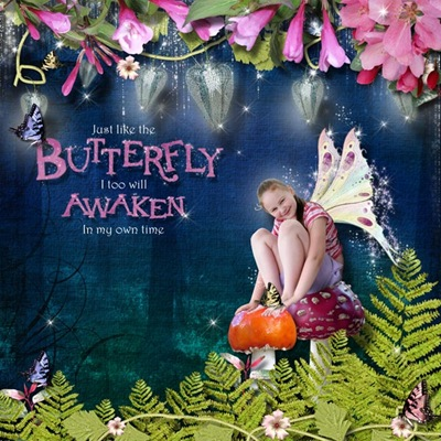 Harmony-butterfly