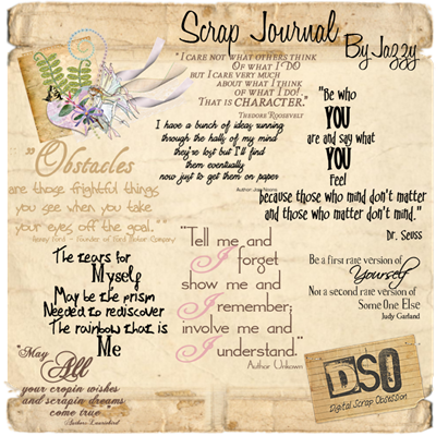LR_Scrap Journal_Wordart