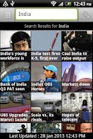 Screenshot of Rediff News