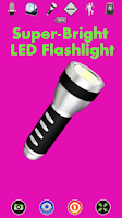 Screenshot of Disco Light™ LED Flashlight