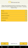 Screenshot of TouchPoint-Business Survey App