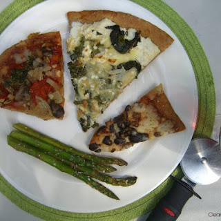 "Joe Riti's Ultra Healthy ""Eat Clean"" Whole Wheat Pizza"