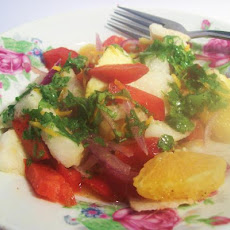 Sunny Day Jicama-Orange Salad