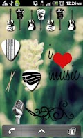 Screenshot of Music Sticker Pack