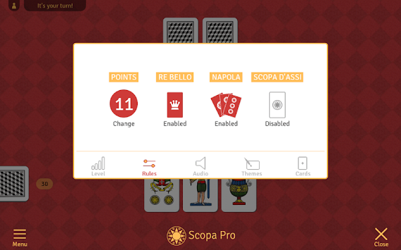Scopa Pro APK screenshot thumbnail 7
