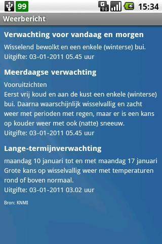 【免費天氣App】Het Weerbericht-APP點子