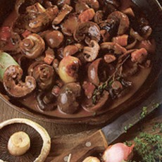 Lambs' Kidneys in Red Wine
