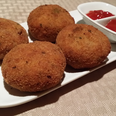 Fish Cutlets or Fish Patties