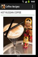 Screenshot of Coffee Recipes