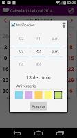 Screenshot of Calendario 2014 Venezuela NoAd