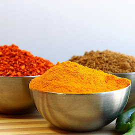 by Dipali S - Food & Drink Ingredients ( green, red chili, powder, indian, pepper, garam masala, spices, trumeric )
